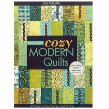 Bright and Bold Cozy Modern Quilts by Kim Schaefer (2012, Paperback)
