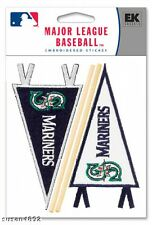 SEATTLE MARINERS PENNANT SCRAPBOOK STICKERS