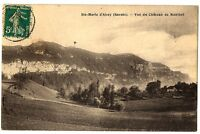 CPA 73 Savoie Sainte-Marie d'Alvey Vue du Château de Montbel