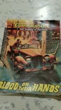 VINTAGE COMMANDO WAR STORIES COMIC - ISSUE 1841 - BLOOD ON THEIR HANDS