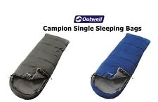 Outwell Campion Single Sleeping Bags -  Blue or Grey