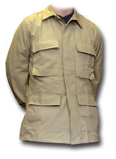1 NEW USA BDU COMBAT JACKET - SAND COLOUR, SIZE LARGE [01153]