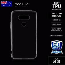 Clear TPU Mobile Phone Screen Protectors for LG
