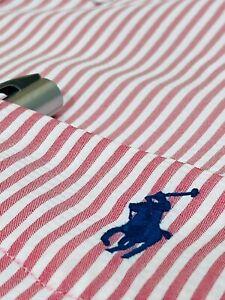 Ralph Lauren Men's Classic Fit Performance Shirt  (Pink)    RRP £109