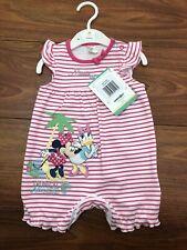 DISNEY BABY GIRL 3-6 MONTH ROMPER MINNIE DAISY BNWT