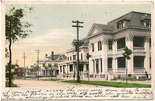 Residences on Church Street in Jacksonville FL Postcard