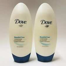 2 Bottles Dove Beautiful Care Conditioner For Normal Hair 12 fl.oz Weight