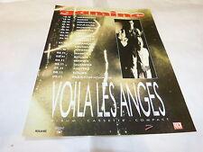 GAMINE - Publicité de magazine / Advert !!! VOILA LES ANGES !!!