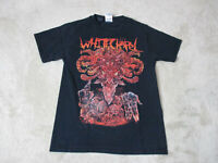 White Chapel Concert Shirt Adult Small Black Red Band Tour Heavy Metal Rock *