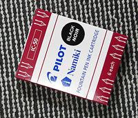 24pcs PILOT Namiki IC-50 Fountain pen ink cartridge Black ink