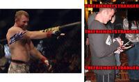 "MATT HUGHES signed Autographed ""UFC"" 8X10 PHOTO a PROOF - UFC HOF Fighter COA"