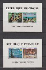 Rwanda-  Lot 2979, Mint, NH.  Sc# 986A-89A.