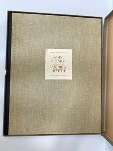 Andrew Wyeth Four Seasons 12 Fine Prints of 1962 Dry Brush Drawings