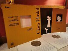 recital Clara HASKIL 1956 Besançon MOZART BEETHOVEN SCHUMANN SCHUBERT 2LPs Fnac
