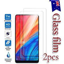 2X Xiaomi Mi Mix 2 & Mix 2S Tempered Glass / Plastic Screen Protector Film Guard