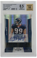 JJ Watt Signed 2011 Playoff Contenders #24 Houston Texans LE Card BGS Auto 10