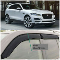 WeatherTech Side Window Deflectors for Jaguar F-Pace 2017-2019 Full Set Light