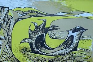 John Craxton RA (1922-2009) Original 1944 lithograph (link Piper, Minton, Nash)'