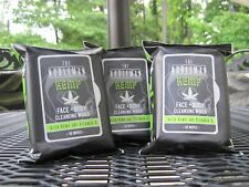 FIVE (30) PACK THE NOBLEMAN FACE BODY CLEANSING WIPES HEMP FREE SHIPPING!