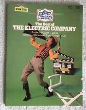 The Best Of The Electric Company 1977 Activity Book- UNUSED! NOS Pics!