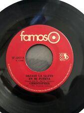 Christopher: 45 Vinyl - El Hombre De La Cima/Dejare la Leave en mi Puerta
