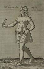 Esclave Maure Alger Empire Ottoman Chalcondyle Nicolas Nicolay - Gravure 17e