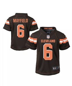 Nike Toddler Boys 2T Baker Mayfield Cleveland Browns NFL Game Jersey **NWT