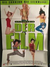 Spice World Spice Girls German One Sheet Movie Poster Posh Ginger Scary Baby