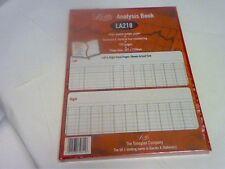 Análisis de cuentas A4 18 columnas en efectivo libro 192pg-FOR todo uso empresarial 2 Manilla