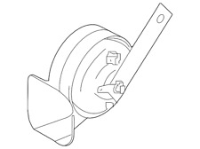 Genuine Nissan High Note Horn 25610-6FL0A
