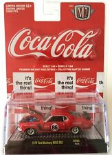 M2 MACHINE COCA-COLA COKE 1970 Ford Mustang BOSS 302 RED - RC02