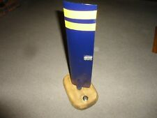 VINTAGE USED  HELICOPTER TAIL ROTOR PROPELLER  ON WOODEN PLINTH DISPLAY PIECE