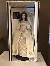 NIB Franklin Mint Faberge Aleksandra the Winter Bride Porcelain doll NEW