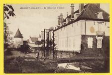 cpa FRANCE Old Postcard 21 - LADOIX SERRIGNY Le CHÂTEAU et le CANAL La Lauve