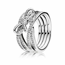 Delicate Sentiments Pandora Sterling Silver CZ Ring 190995CZ RRP $159