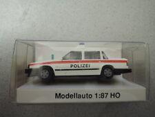 IMU 07631 Limousine Polizei Volvo ohne Dachkennung in OVP aus Sammlung (*3)