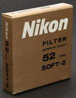Nikon 52mm Soft-Focus #2 Filter - New