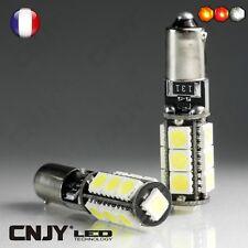 AMPOULE LED H6W BAX9S CORE 13LED CANBUS ANTI ERREUR ODB BLANC 6000K POUR AUDI TT