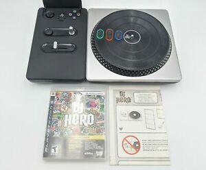 Play Station P S3 Bundle DJ Hero Start the Party Game Turntable Gaming Party