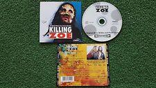 KILLING ZOE **Soundtrack** ORIGINAL & SCARCE 1994 France CD QUENTIN TARANTINO