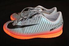 Nike Youth MercurialX Vortex Iii Cr7 Indoor Soccer Shoes sz 5Y Excellent