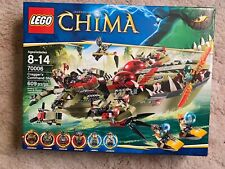 LEGO Legends of Chima Cragger's Command Ship 70006 New Sealed 6 minifigs