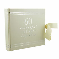 Diamond Wedding Anniversary Photo Album 60th Gift WG71160