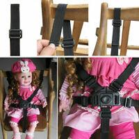 5Point Safety Baby Kids Harness Stroller High Chair Pram Car Belt Strap R7E7