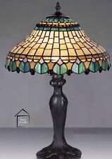 Peacock Design Tiffany Stained Glass Handmade Table Lamps 12'' - Christmas Gift