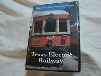 Texas Electric Railway Co 51 min Film on DVD of Interurbans