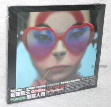 Gorillaz HUMANZ DELUXE EDITION 2017 Taiwan 2-CD w/OBI (digipak)