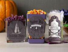 Martha Stewart Crafts Decoupage Paper Cut-Outs Labels Phrases Halloween 12 piece