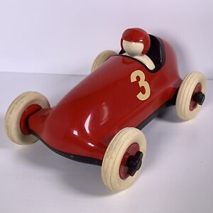 Habitat Playforever Roadster Racing Car Red Number 3 Adults Collectable Desk Toy