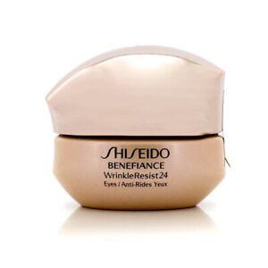 NEW Shiseido Benefiance WrinkleResist24 Intensive Eye Contour Cream 15ml Womens